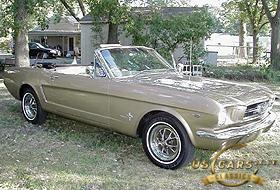 1965 Mustang Chantillly Beige