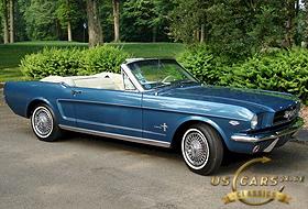 1965 Mustang Guardsman Blue