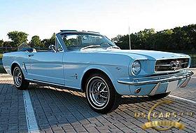1965 Mustang Skylight Blue