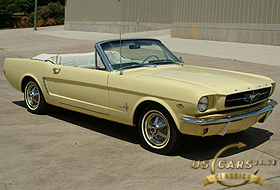 1965 Mustang Sunlight Yellow