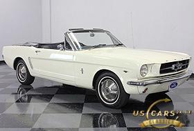 1965 Mustang Wimbledon White