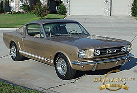 1966 Mustang Antique Bronze