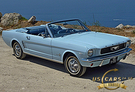 1966 Mustang Arcadian Blue / Light Blue