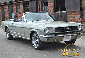 1966 Mustang Sauterne Gold / Medium Sage
