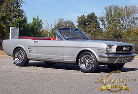 1966 Mustang Silver Frost