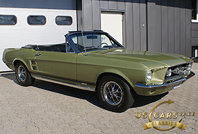 1967 Mustang Lime Gold