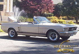1967 Mustang Pebble Beige