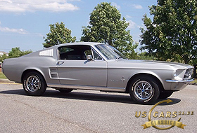 1967 Mustang Silver Frost