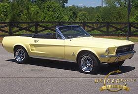 1967 Mustang Springtime Yellow