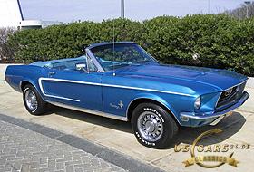 1968 Mustang Acapulco Blue