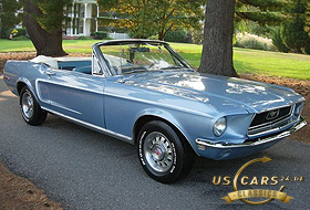 1968 Mustang Brittany Blue