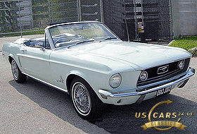 1968 Mustang Diamond Blue