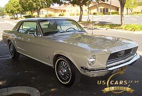 1968 Mustang Pebble Beige