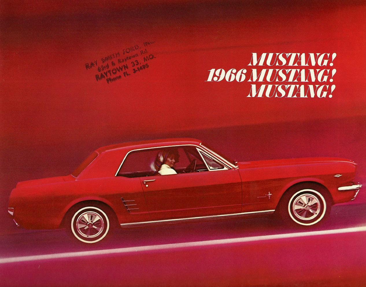 1966 Mustang Prospekt Seite 1