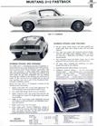 1967 Ford Mustang Dealer Spezifikaionen