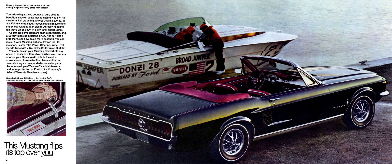 Ford Mustang Brochure Pdf Ides Dimage De Voiture 1964 Download Image 2716 X 1134 1970