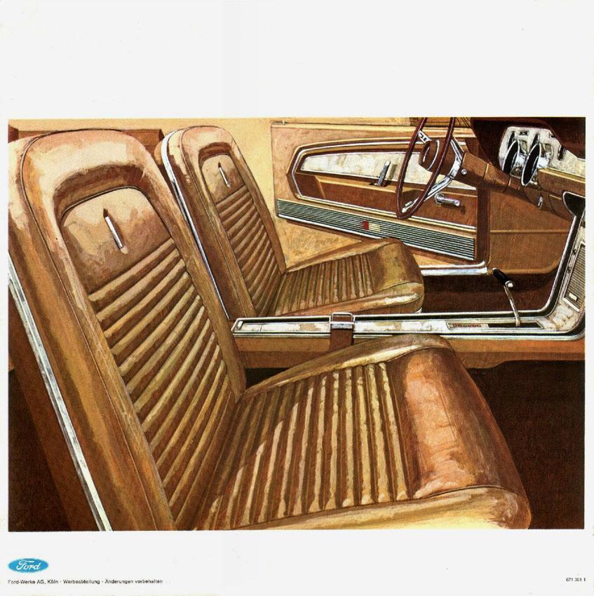 1967 Ford Mustang T5 Prospekt Deutsch - Seite 8
