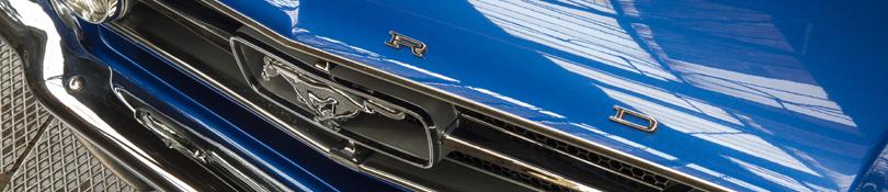 Voll Restaurierung Oldtimer, Ford Mustang