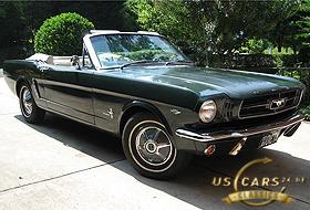 1965 Mustang Cascade Green