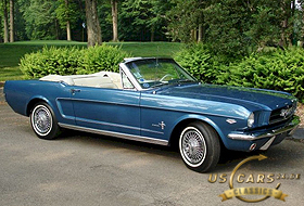 1965 Mustang Guardsman Blue