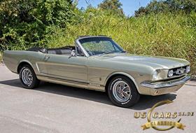 1965 Mustang Honey Gold