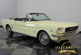 1965 Mustang Phoenician Yellow