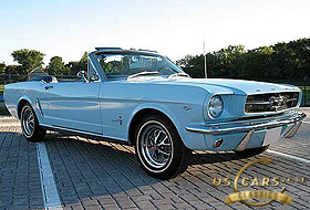 1965 Mustang Skylight Blue