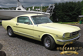 1965 Mustang Springtime Yellow