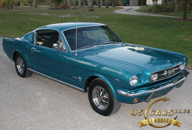 1965 Mustang Twilight Turquoise