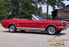 1966 Mustang Signal Flare Red