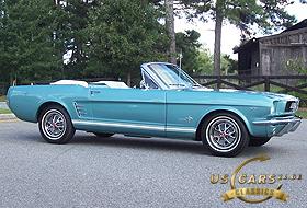 1966 Mustang Tahoe Turquoise