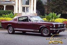 1966 Mustang Vintage Burgundy