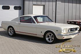 1966 Mustang Wimbledon White