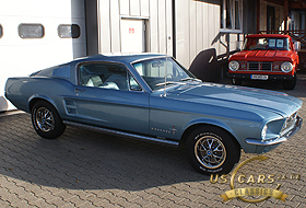 1967 Mustang Brittany Blue