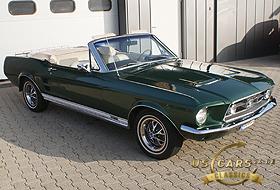 1967 Mustang Dark Moss Green