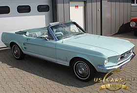1967 Mustang Diamond Blue