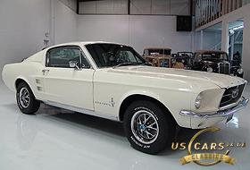 1967 Mustang Wimbledon White