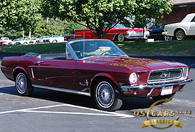 1968 Mustang Royal Maroone