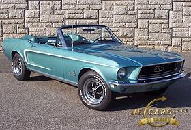 1968 Mustang Tahoe Turquoise