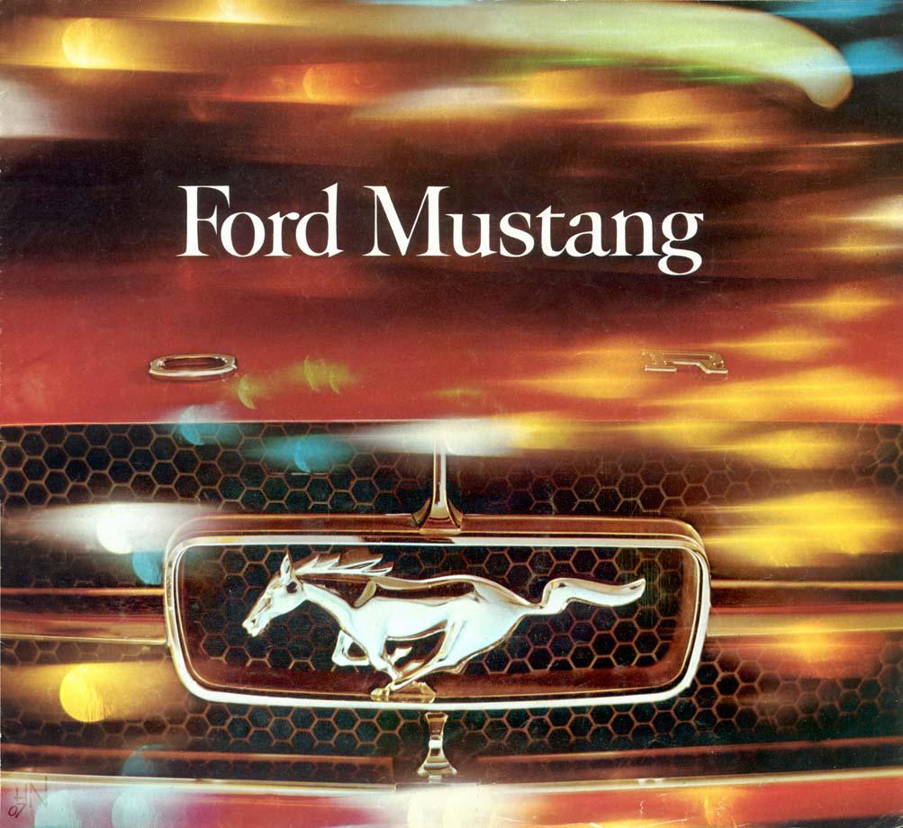 1964.5 Mustang Prospekt Seite 1