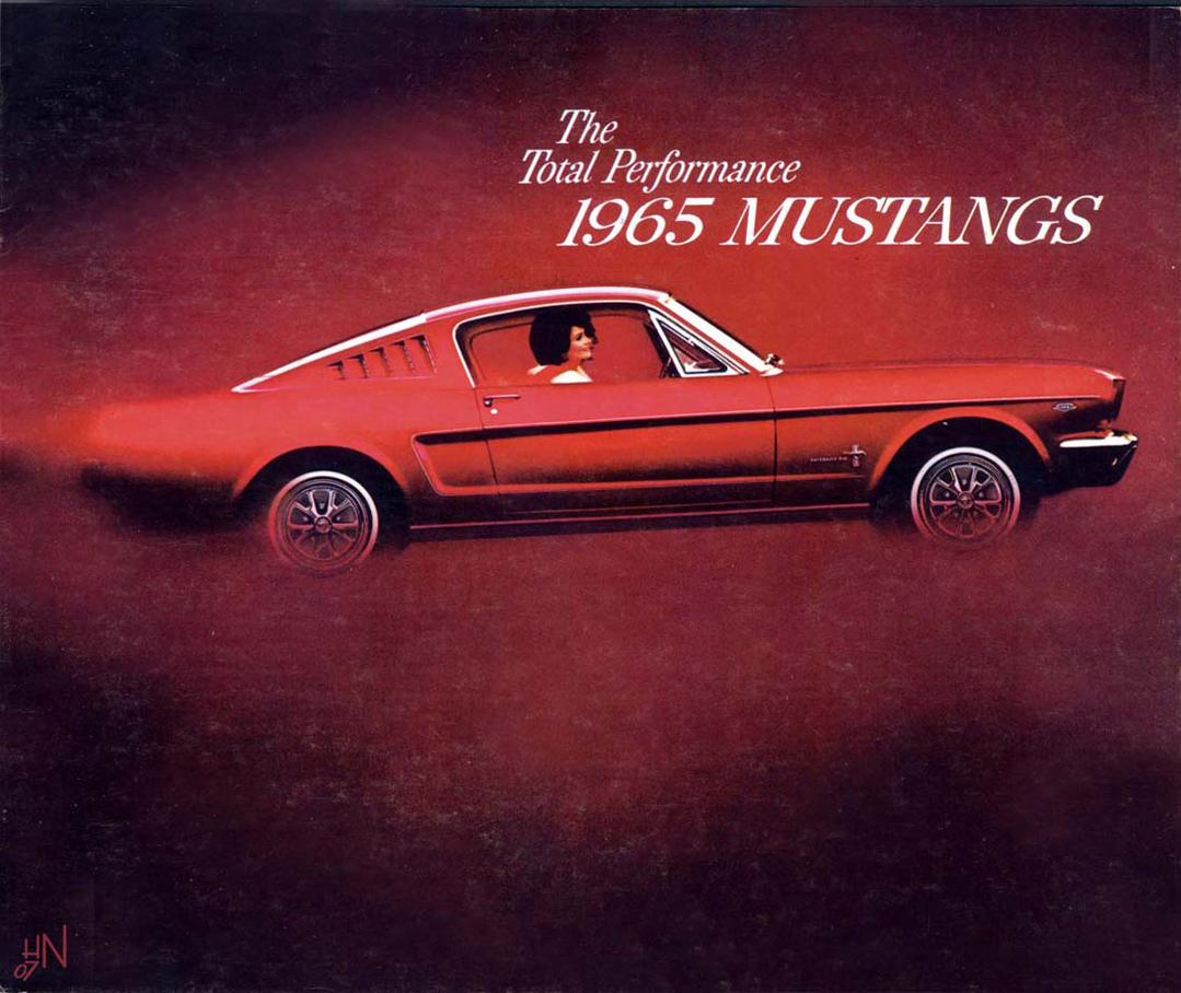 1965 Mustang Prospekt Seite 1