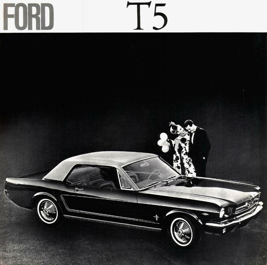 1965 Ford T5 Prospekt Seite 1