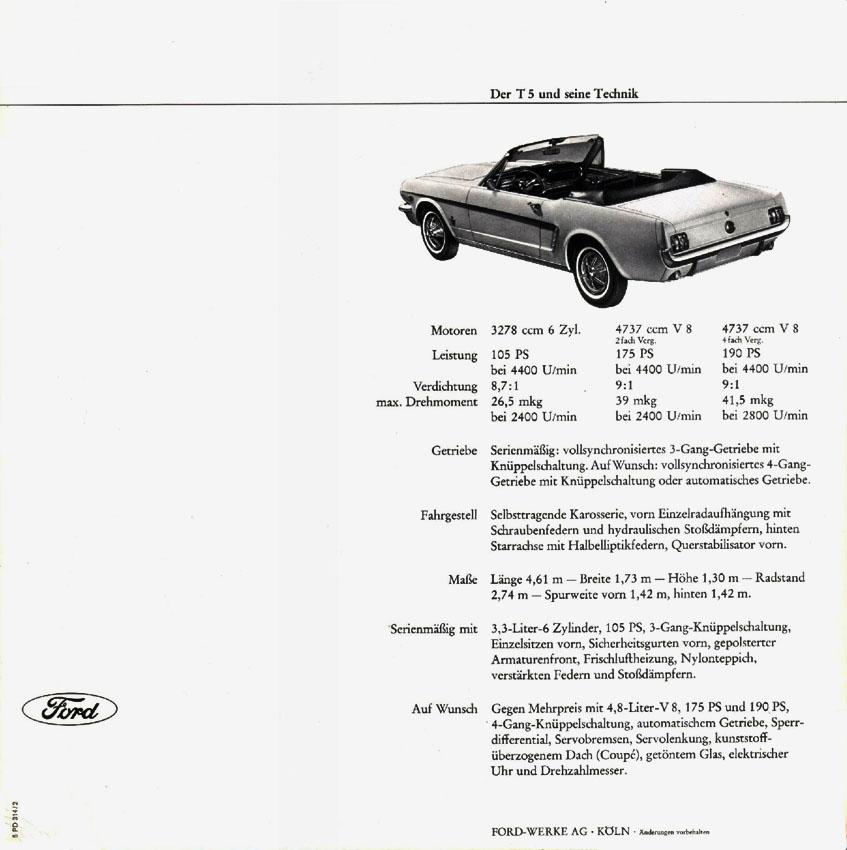 1965 Ford T5 Prospekt Seite 5