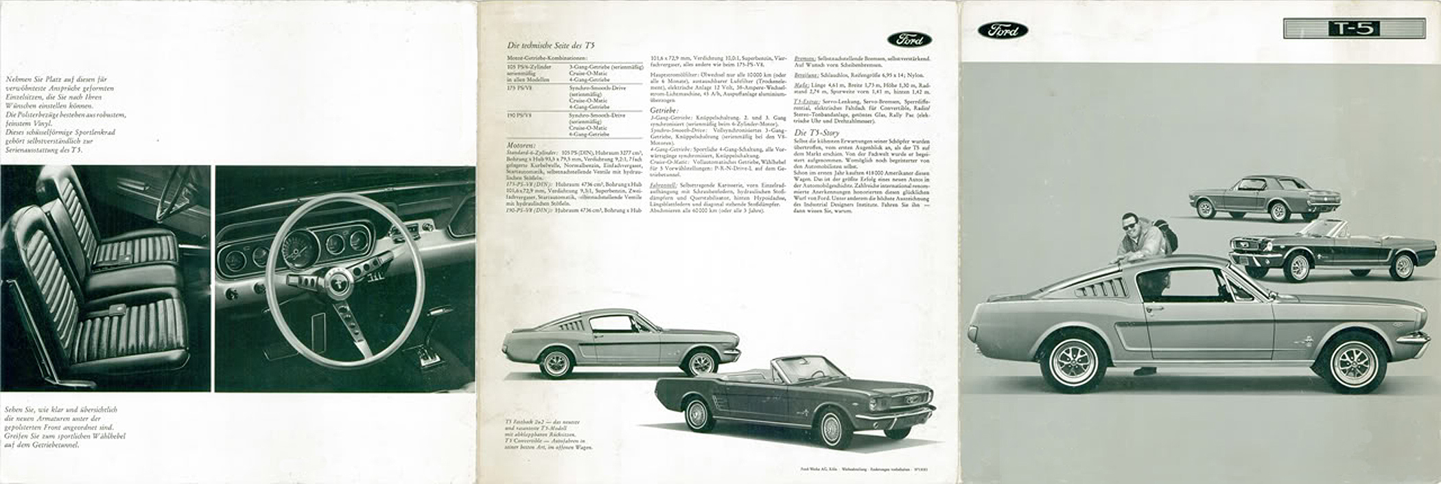 1966 Ford Mustang T5 Prospekt - Seite 1