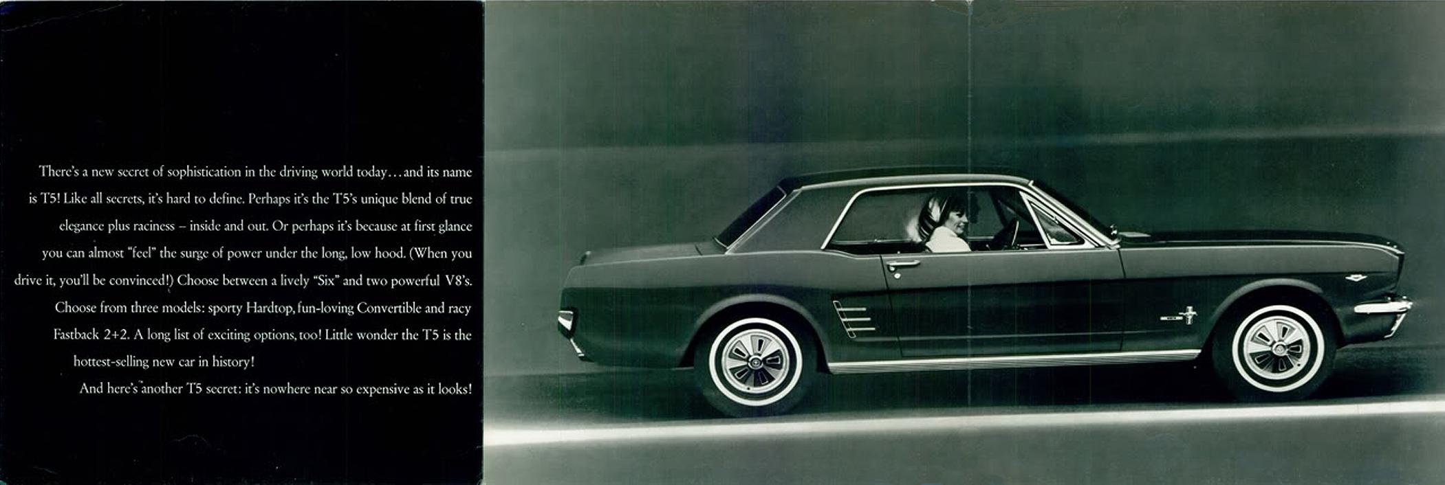 1966 Ford Mustang T5 Prospekt Englisch - Seite 2