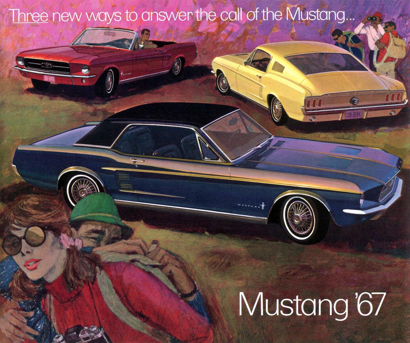 1967 Mustang Prospekt Seite 1